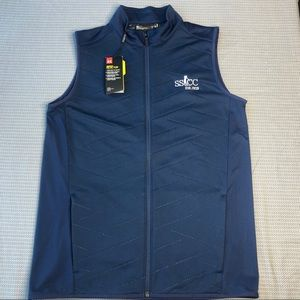 NWT Under Armour Heat Gear Blue Reactor Golf Vest